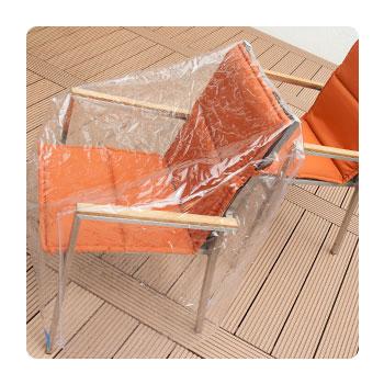 klarsicht gartenm bel abdeckhaube. Black Bedroom Furniture Sets. Home Design Ideas